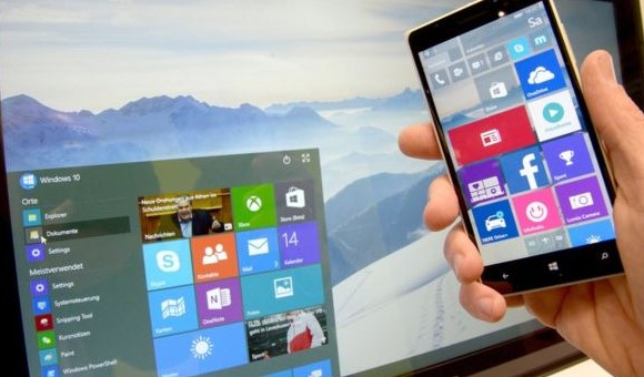 Mirosoft Windows 10 and Windows Mobile Update