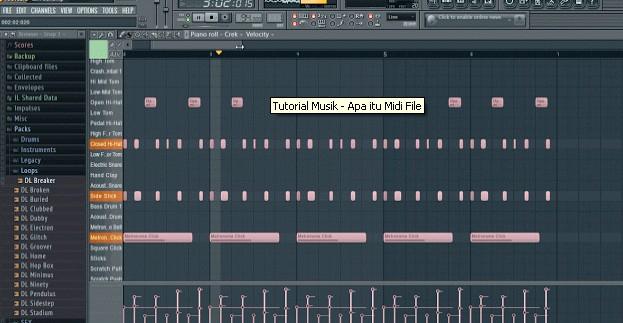 Tutorial Musik - Apa itu Midi File