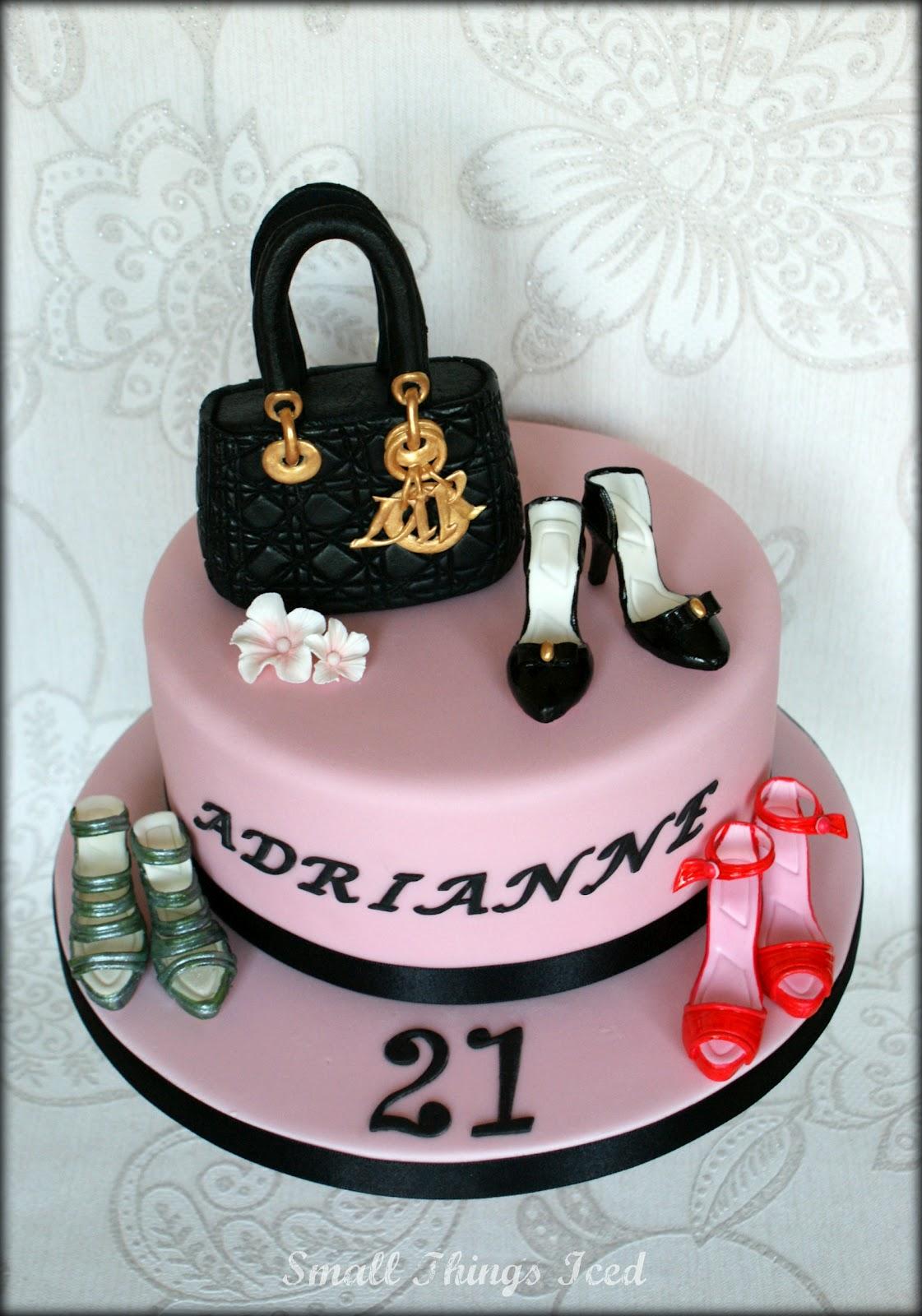 Handbag Shoes Birthday Cake
