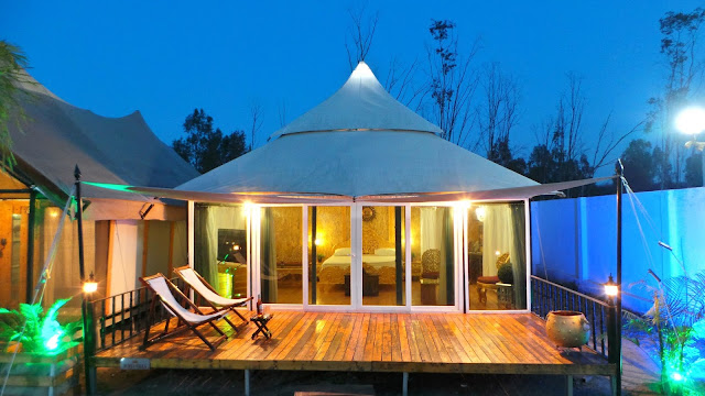 Most Amazing Wedding Destinations with Luxury Resort Tents 3