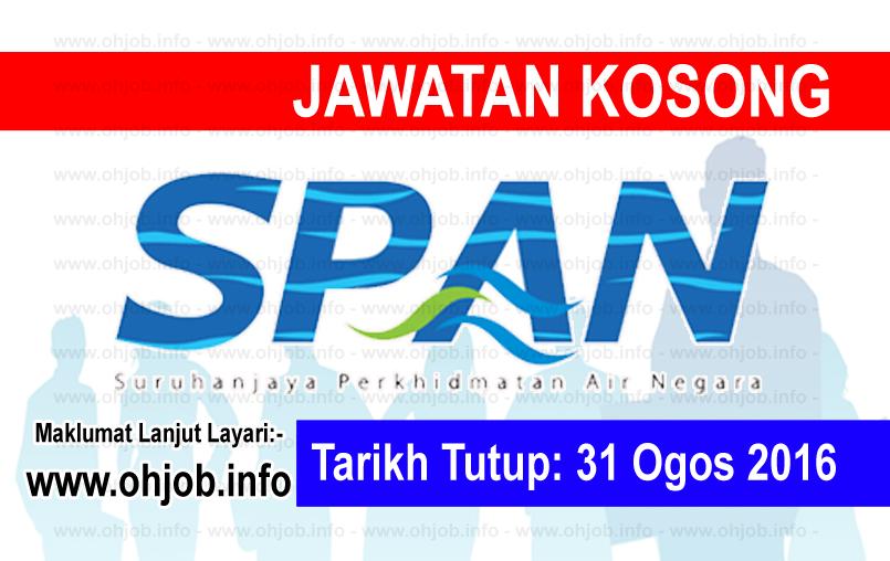 Jawatan Kerja Kosong Suruhanjaya Perkhidmatan Air Negara (SPAN) logo www.ohjob.info ogos 2016