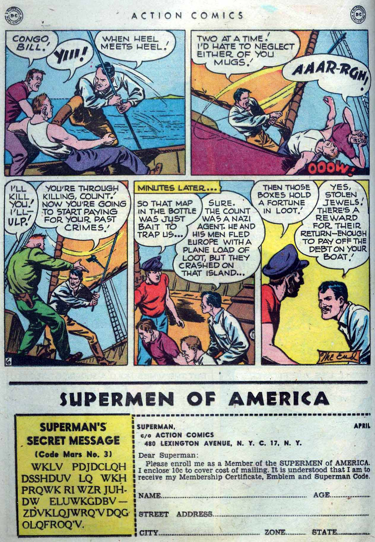 Read online Action Comics (1938) comic -  Issue #119 - 22