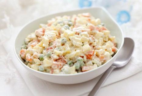 Best Recipes: Salad Recipe : How to make Russian salad