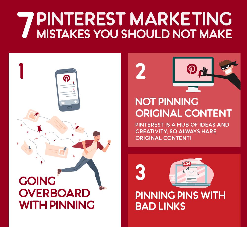 Social Media Optimization - 7 Common Pinterest Marketing Mistakes You Should Never Make (Infographic)