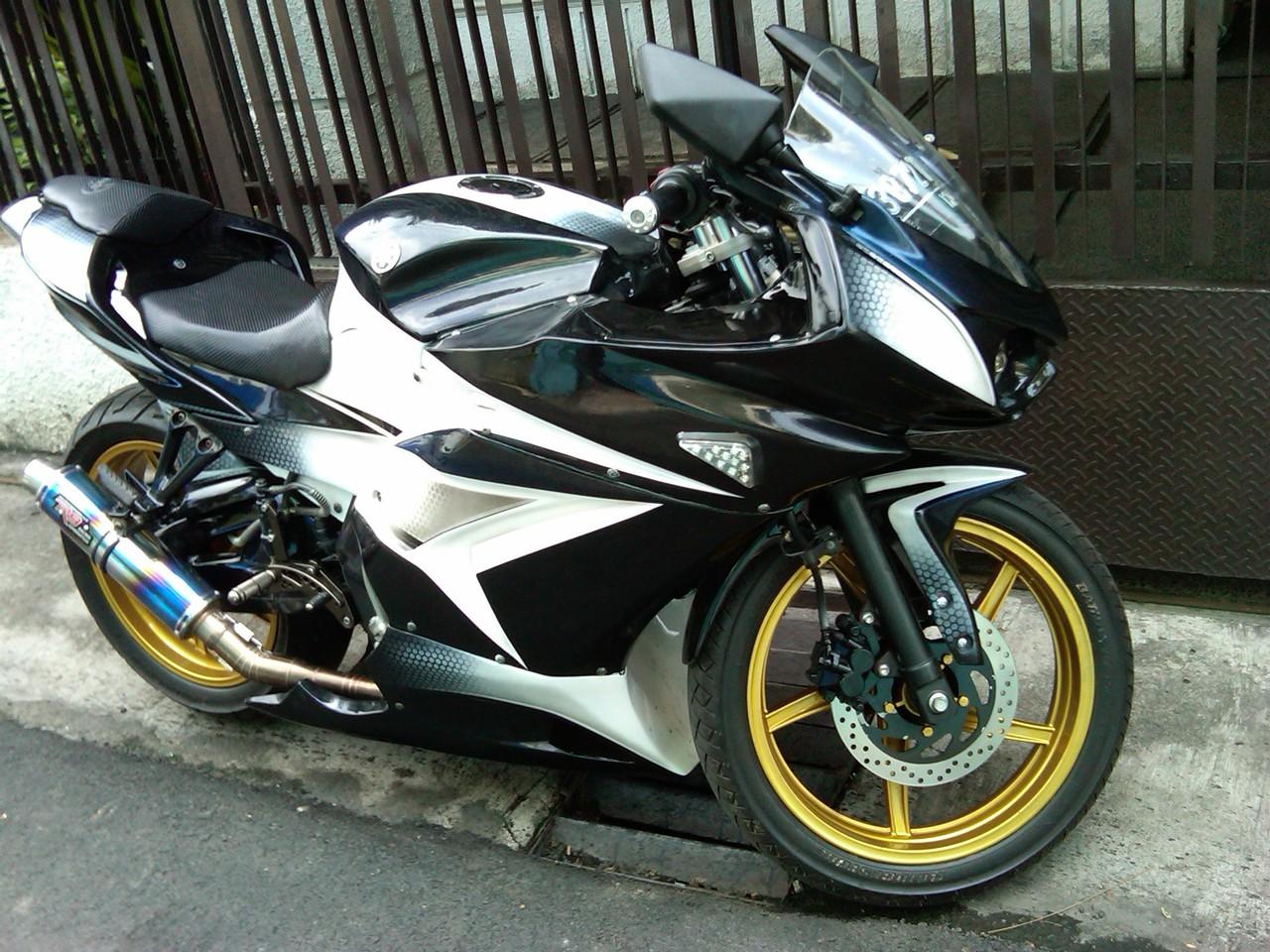 Foto Modif Motor Yamaha Vixion Terbaru Modifikasi Motor Yamaha