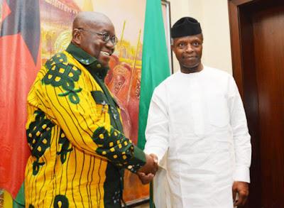 Osinbajo and Ghana President