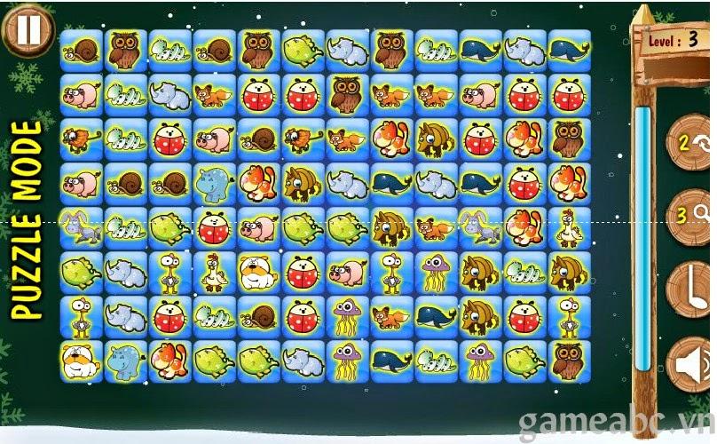 Và tư duy về toàn bộ vị trí xắp sếp của các quân pokemon để lựa chọn ăn cặp  nào trước cặp nào sau. trong game tri tue cuc hay này nhé