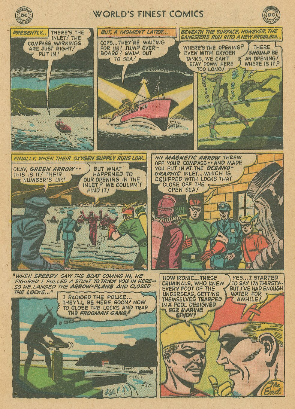 Read online World's Finest Comics comic -  Issue #92 - 8
