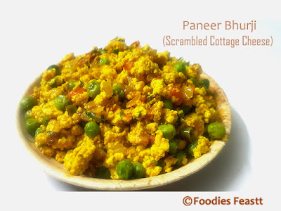 Easy Paneer Bhurji Recipe