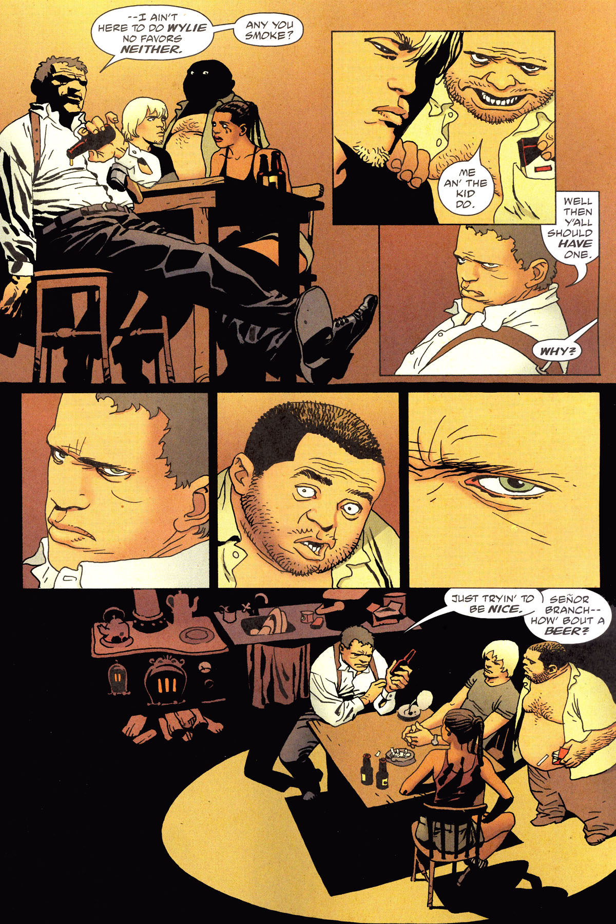 Read online 100 Bullets comic -  Issue #79 - 8