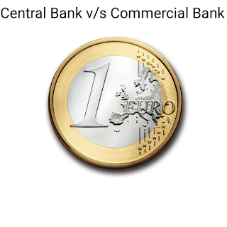 Difference between a Central Bank and a Commercial Bank
