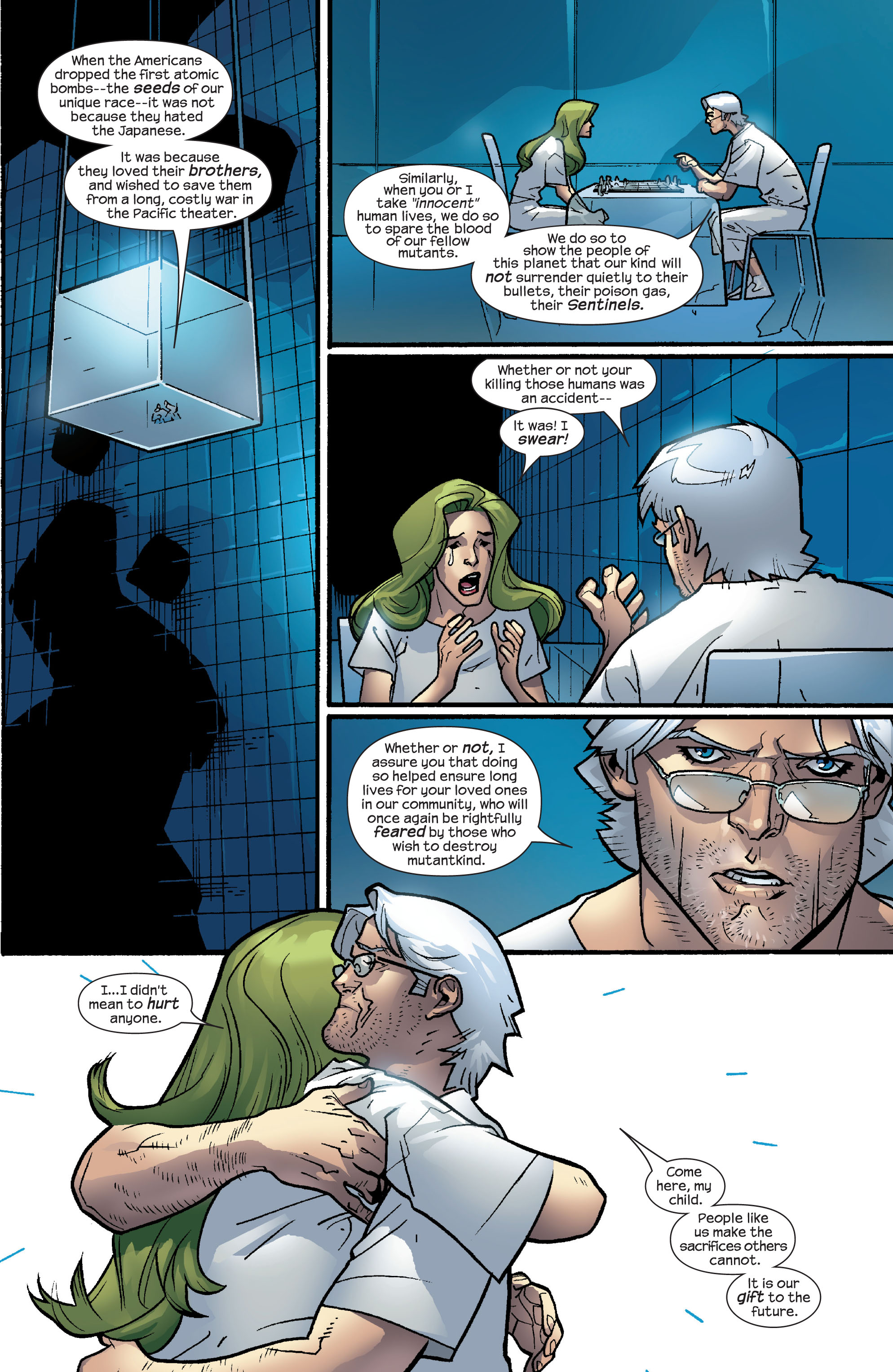 Read online Ultimate X-Men comic -  Issue #63 - 9
