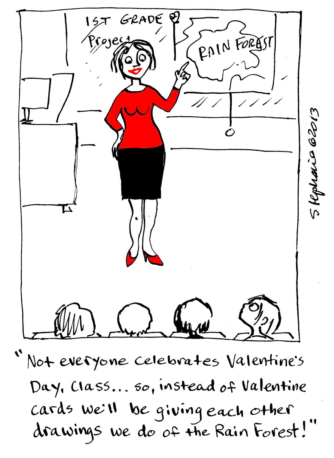 Stephanie Piro's Cartoon Blog: 2013 Love Cartoon Countdown