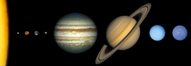 Планеты гиганты и планеты карлики