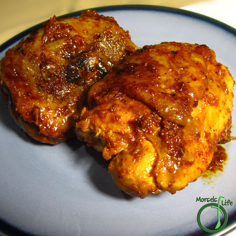 Morsels of Life - Apricot Chicken - Juicy chicken, cooked to a spicy and fruity perfection.