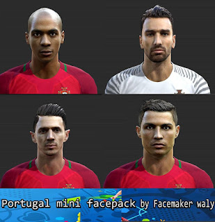 Mini Facepack V1 Pes 2013 By Waly