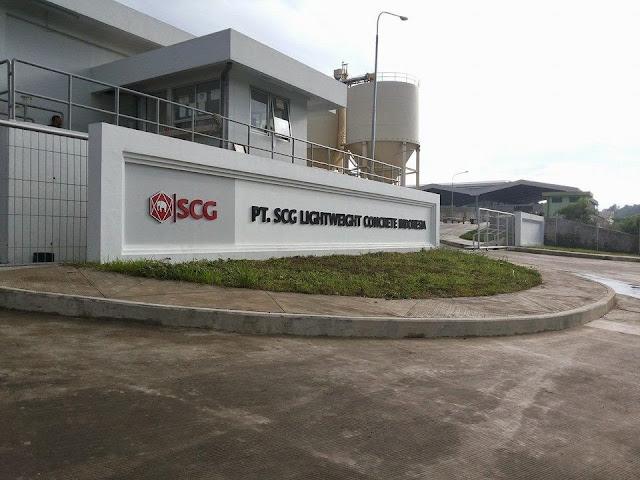 Lowongan Kerja Boiler Engineer, Mechanical Engineer PT. SCG Lightweight Concrete Indonesia