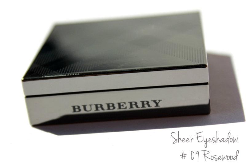 """Отзыв: Burberry Шелковистые моно-тени для век в оттенке #09 """"Розовое дерево"""" - Burberry Sheer Eyeshadow #09 Rosewood."""