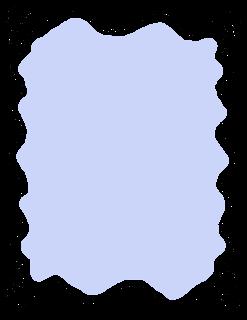 label frame doodle wavy art lines printable digital clipart image