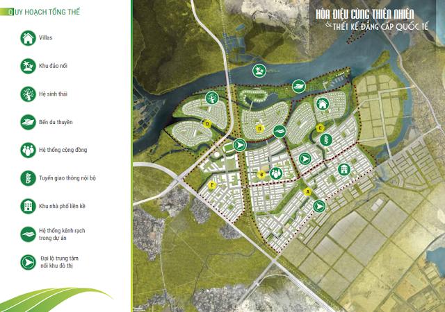 Quy hoạch tổng thể dự án Golden Hills