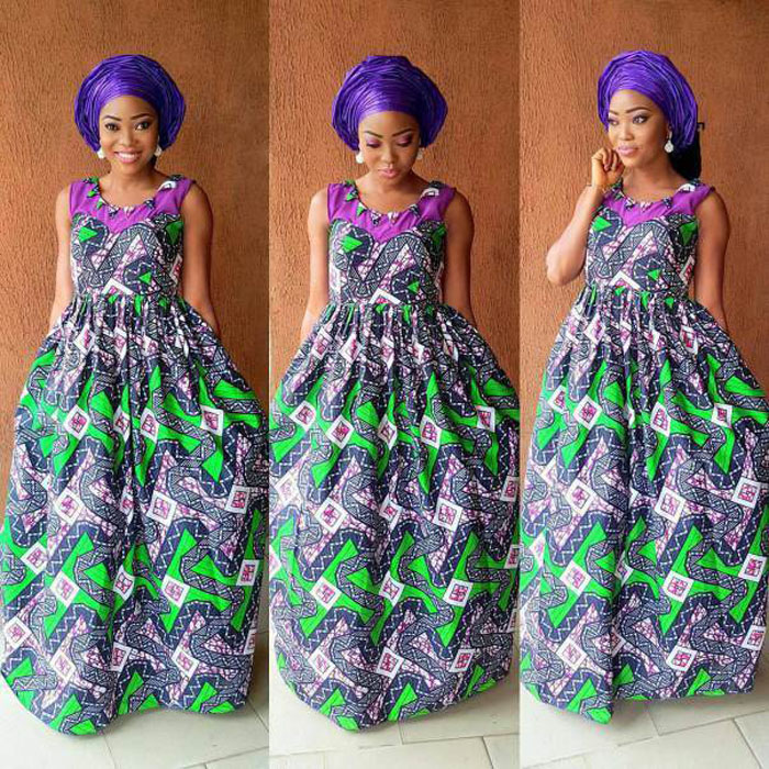 50 Pictures of The Latest Ankara Gown Styles 2017 | Simple African ...