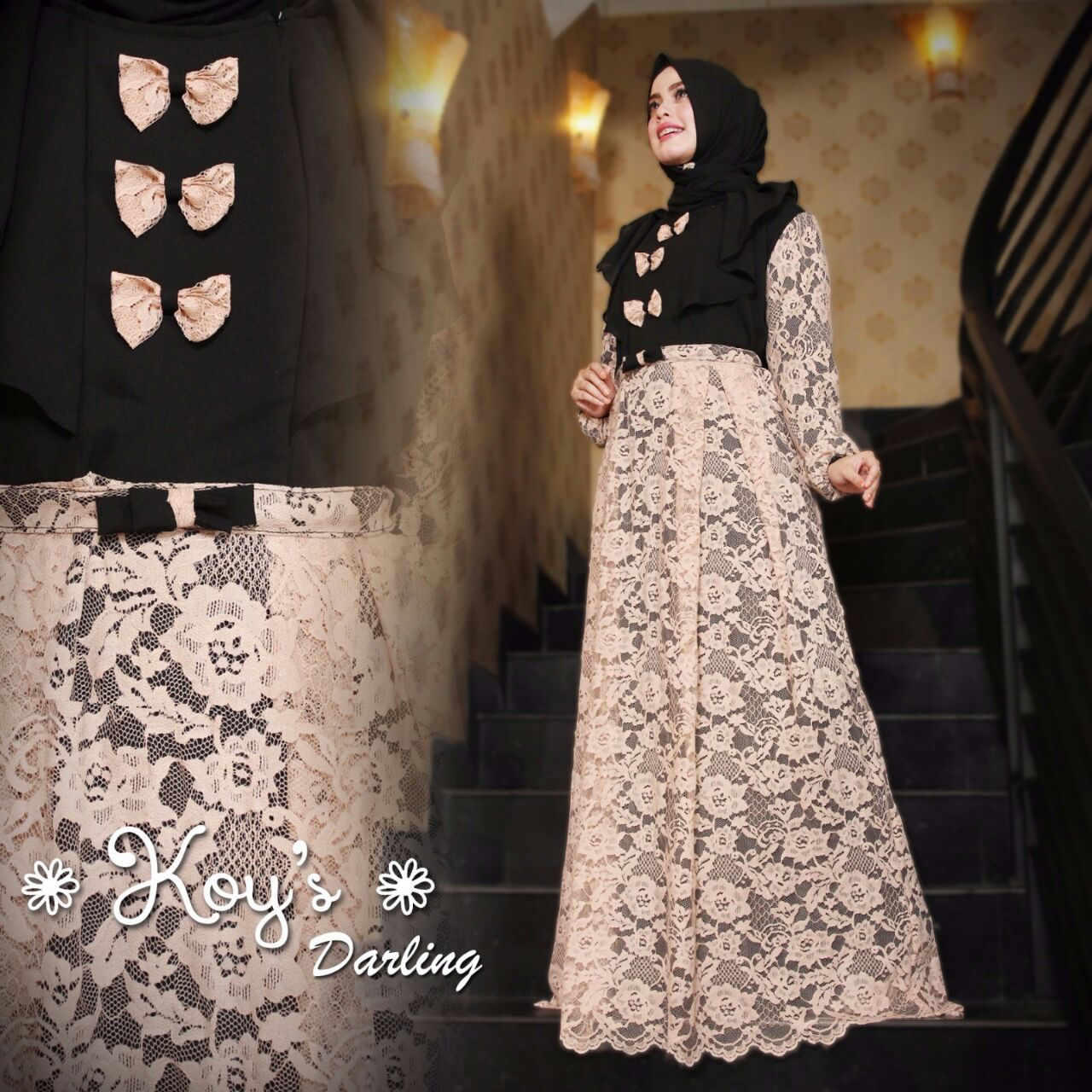 Jual Baju Hijab Di Surabaya Darling Dress By Koy 39 S