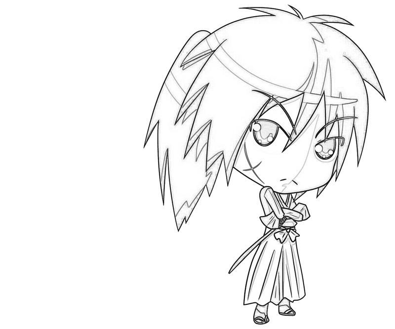kenshin coloring pages | Kenshin Himura Sword | Lean Printing