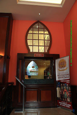 Ticket window, Lobby, DBKL City Theatre, KL Historic City Centre, KL, Malaysia