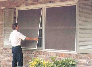 Szúnyog háló terasz beépítés ablak