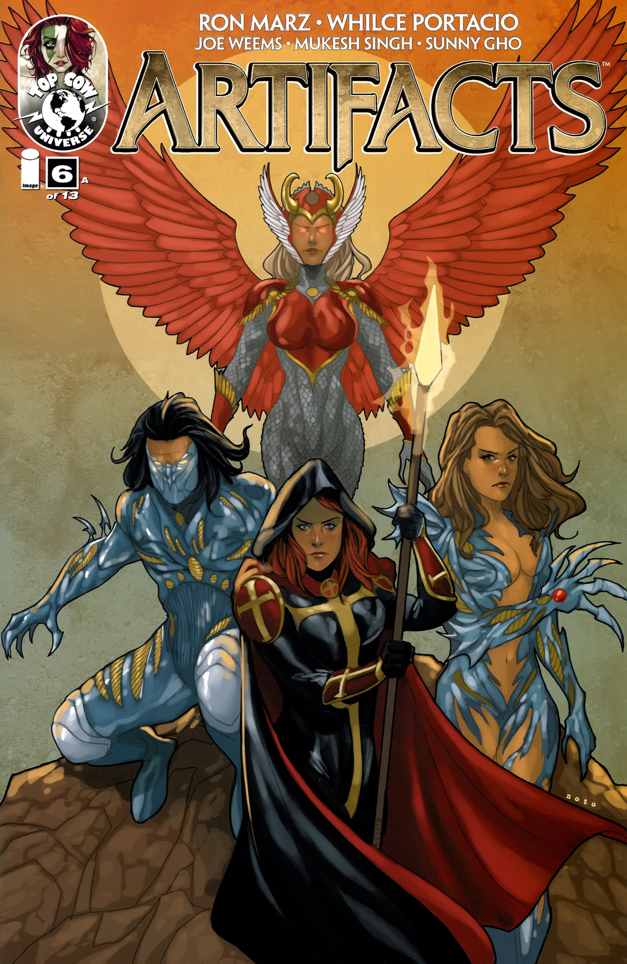 Read online Artifacts comic -  Issue #6 - 1