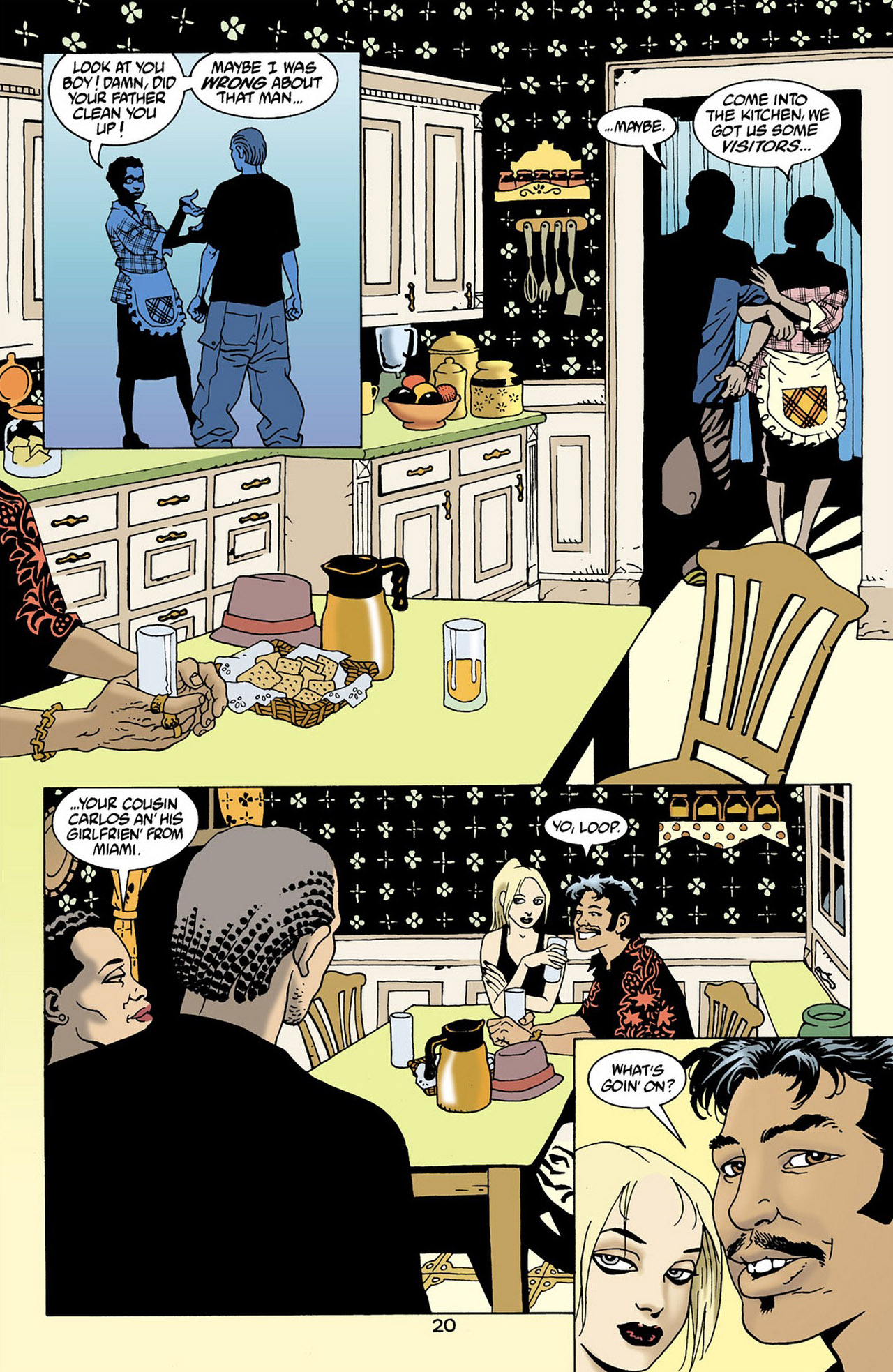 Read online 100 Bullets comic -  Issue #16 - 21