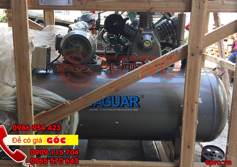 Máy bơm hơi khí nén jaguar giá rẻ áp lực 12.5 bar, bình chứa 500L