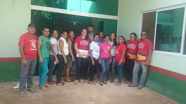 Equipe da Força Estadual de Saúde chega em São João do Sóter