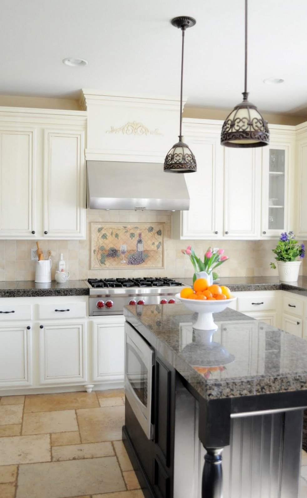 painting oak kitchen cabinets | Turning a kitchen island into a piece of furniture - My ...
