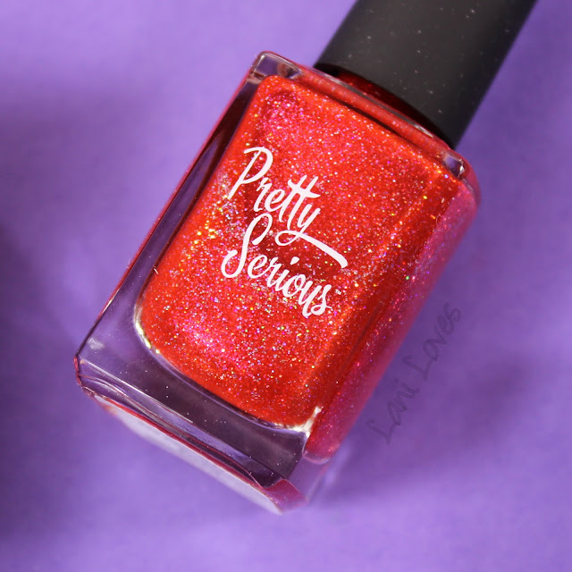 Pretty Serious Hydra Nail Polish Swatches & Review