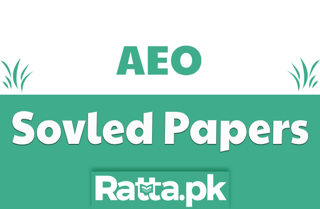 Solved Past Papers for AEO Post pdf Download NTS, PPSC, BPSC