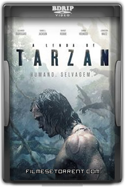 A Lenda de Tarzan Torrent Dublado 2016 AVI TS
