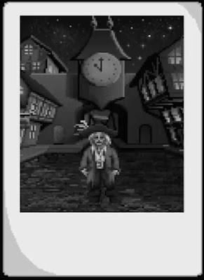 El reloj de la torre de Monkey Island