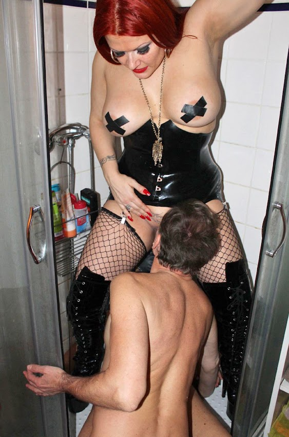 dominatrix toilet