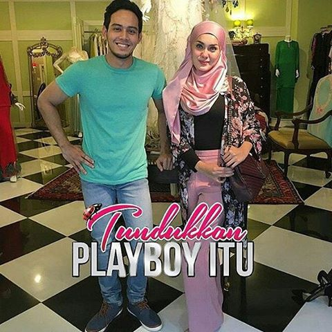 Drama adaptasi Novel Tundukkan Playboy Itu