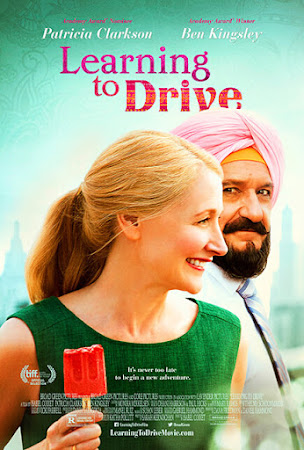 Poster Of Learning to Drive In Dual Audio Hindi English 300MB Compressed Small Size Pc Movie Free Download Only At worldfree4u.com