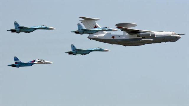 """""""Aviones espías rusos alcanzan territorios ocupados por Israel"""""""