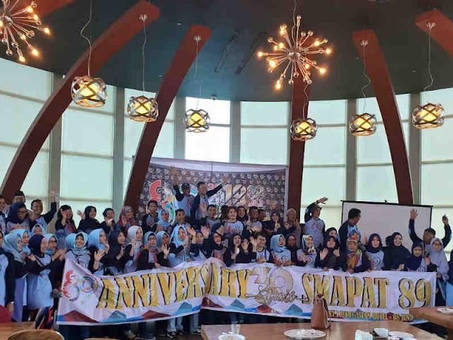 Peringatan Tiga Dekade dan Halal bi Halal SMAN 4 Angkata 89 Makassar