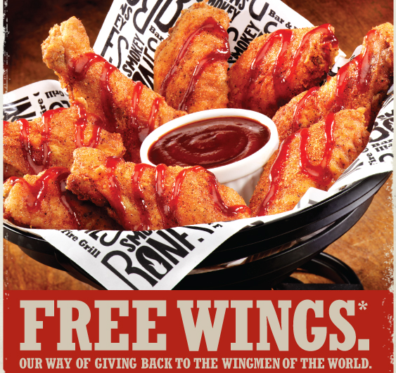 picture regarding Smokey Bones Coupons Printable named Smokey bones discount coupons july 2019