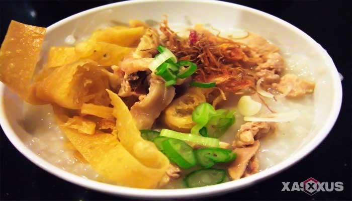 Cara membuat bubur ayam Cina