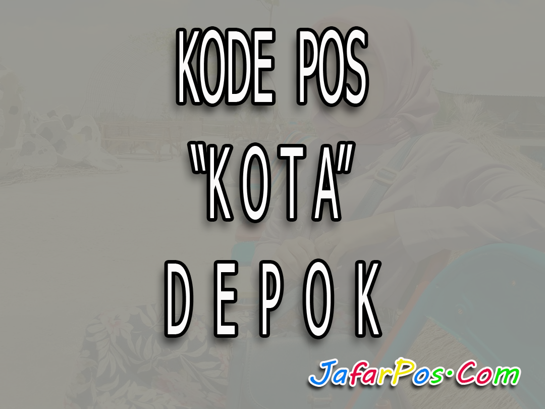Kode pos indonesia sekarang