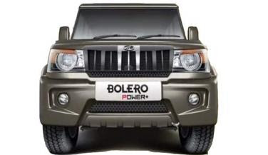 Mahindra Bolero Power Plus front look