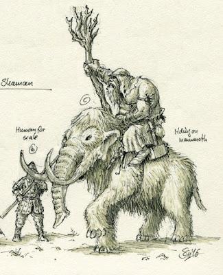 Shaman on Mammoth