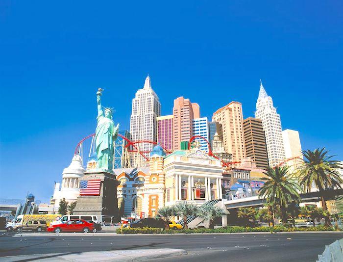 KLM Las Vegas, Las Vegas KLM z Amsterdamu, linie lotnicze, Lot do USA, USA, Stany Zjednoczone, Tanie Loty do USA
