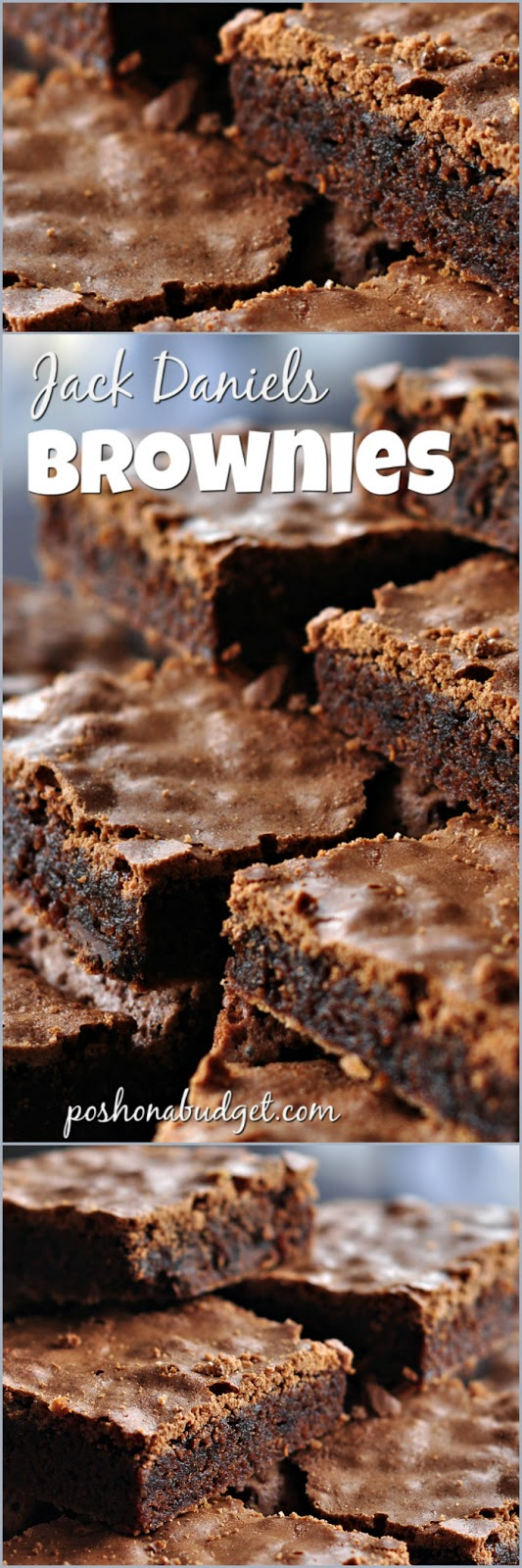 Jack Daniels (Inspired) Brownies